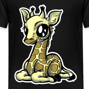 Giraffe Animal Tee Shirt - Toddler Premium T-Shirt