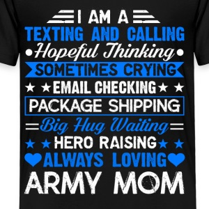 Proud Army Mom Tee Shirt - Toddler Premium T-Shirt