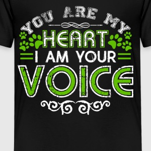 You Are My Heart Animal Lovers Shirts - Toddler Premium T-Shirt