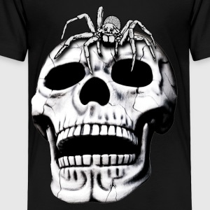 skull and spider - Toddler Premium T-Shirt
