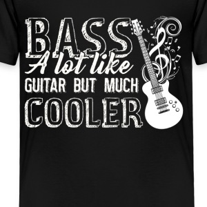 Bass Guitar Tee Shirt - Toddler Premium T-Shirt
