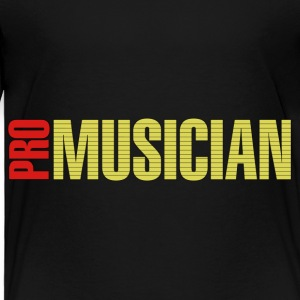 Pro musician red yellow - Toddler Premium T-Shirt