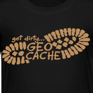 Get Dirty Geocache Shirt - Toddler Premium T-Shirt