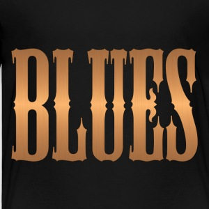 blues music copper - Toddler Premium T-Shirt