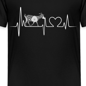goat heartbeat shirt - Toddler Premium T-Shirt