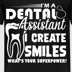 Dental Assistant Tee Shirt - Toddler Premium T-Shirt