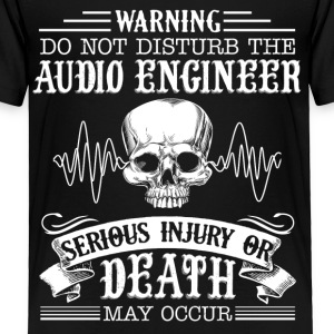 Audio Engineer Shirt - Toddler Premium T-Shirt