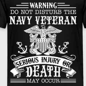 Navy Veteran Shirt - Toddler Premium T-Shirt