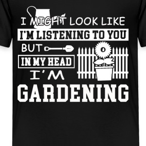 Gardening Tee Shirt - Toddler Premium T-Shirt