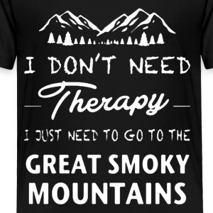 Great Smoky Mountains Shirt - Toddler Premium T-Shirt