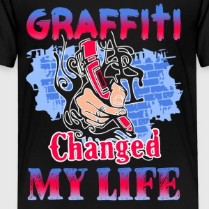 Graffiti Change My Life Shirt - Toddler Premium T-Shirt