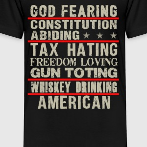 God fearing constitution abiding - Toddler Premium T-Shirt