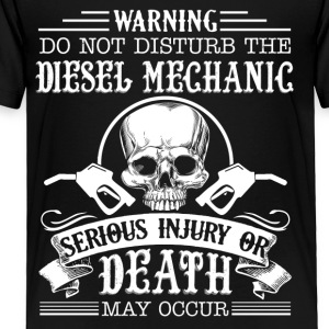 Diesel Mechanic Shirt - Toddler Premium T-Shirt