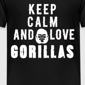 Women's Gorilla T-Shirts - Toddler Premium T-Shirt