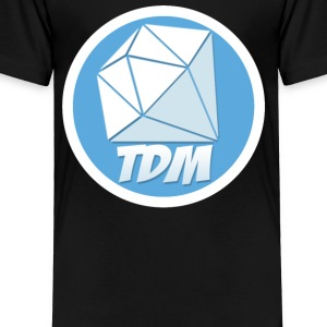 Dan TDM Logo Diamond - Toddler Premium T-Shirt