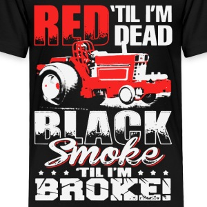 LOVE TRACTOR RED TIL I'M DEAD - Toddler Premium T-Shirt