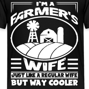 FARMER WIFE TEE SHIRT - Toddler Premium T-Shirt