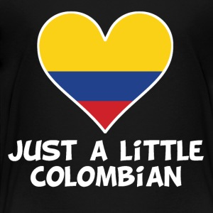Just A Little Colombian - Toddler Premium T-Shirt