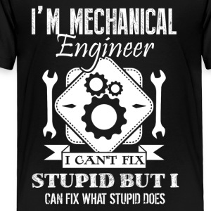 Mechanical Engineer Shirt - Toddler Premium T-Shirt