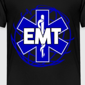Distressed Emergency Medical Technician Or EMT Tee - Toddler Premium T-Shirt