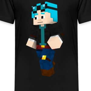 dantdm and the enchanted crystal - Toddler Premium T-Shirt