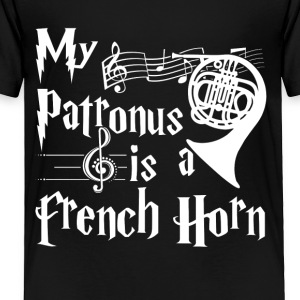 My Patronus is a French Horn Tshirt - Toddler Premium T-Shirt