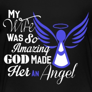 My Wife Is An Angel Shirt - Toddler Premium T-Shirt