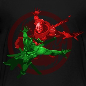 Genji and Oni Genji - Toddler Premium T-Shirt