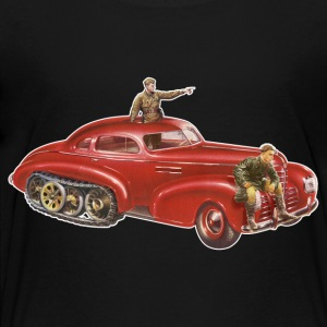 Red Halftrack Coupe - Toddler Premium T-Shirt