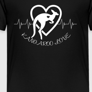 Kangaroo Love Shirt - Toddler Premium T-Shirt