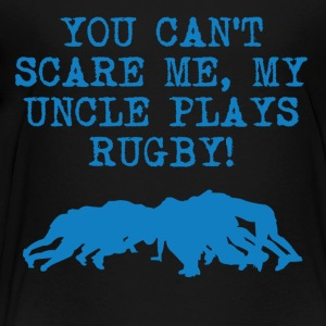 My Uncle Plays Rugby - Toddler Premium T-Shirt