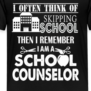 I'm School Counselor Shirt - Toddler Premium T-Shirt