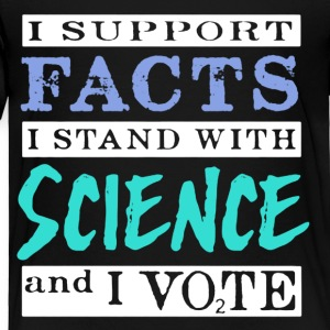 SCIENCE VOTERS SHIRT - Toddler Premium T-Shirt