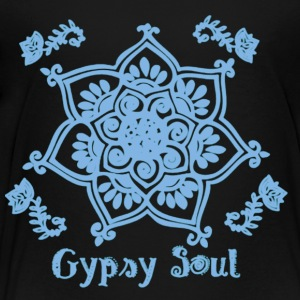 Gypsy Soul Bohemian Yoga Shirt - Toddler Premium T-Shirt