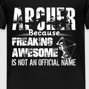 Awesome Archer Tee Shirt - Toddler Premium T-Shirt