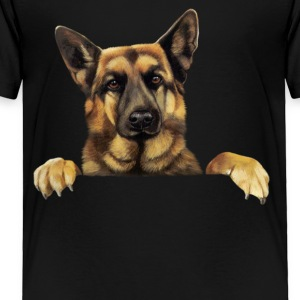 German Shepherd T shirt German Shepherd Power - Toddler Premium T-Shirt