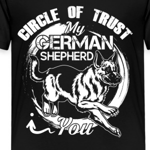 German Shepherd Circle Of Trust Shirt - Toddler Premium T-Shirt