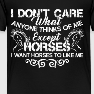 HORSE TEE SHIRT - Toddler Premium T-Shirt