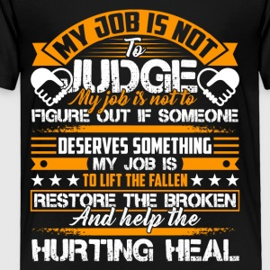 Social Worker Help The Hurting Heal Shirt - Toddler Premium T-Shirt
