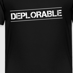 Donald Trump Basket of Deplorables TShirt - Toddler Premium T-Shirt