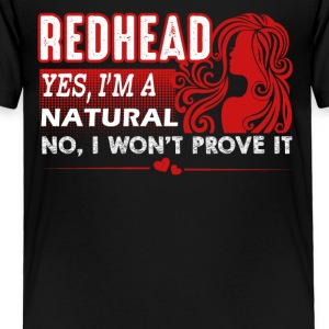 Natural Redheads Shirt - Toddler Premium T-Shirt