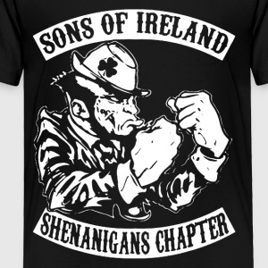 SONS OF IRELAND PATRICK 'S DAY SHIRT - Toddler Premium T-Shirt