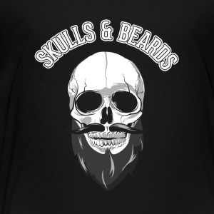 skulls beards - Toddler Premium T-Shirt