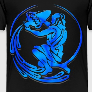 Aquarius Astrological Sign Shirt - Toddler Premium T-Shirt