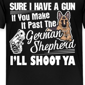 German Shepherd Shirts - Toddler Premium T-Shirt
