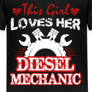 Diesel Mechanic Tee Shirt - Toddler Premium T-Shirt