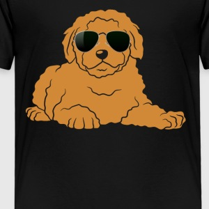 Doodle With Glasses Shirt - Toddler Premium T-Shirt