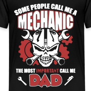Mechanic Dad Tee Shirt - Toddler Premium T-Shirt