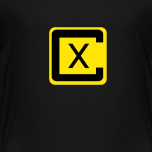 Crossover Black and Yellow - Toddler Premium T-Shirt