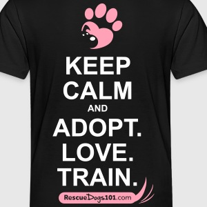 RescueDogs101 Keep Calm - Toddler Premium T-Shirt